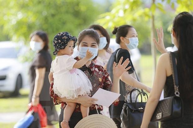 A casi 96 por ciento, tasa de pacientes de COVID-19 recuperados en Vietnam hinh anh 1