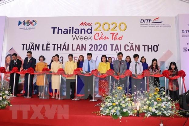 Semana de productos tailandeses en Vietnam, oportunidad para fomentar el intercambio bilateral hinh anh 1