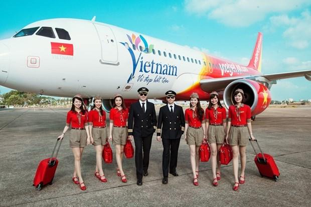 Vietjet Air coopera con Facebook en promocion del turismo vietnamita hinh anh 1