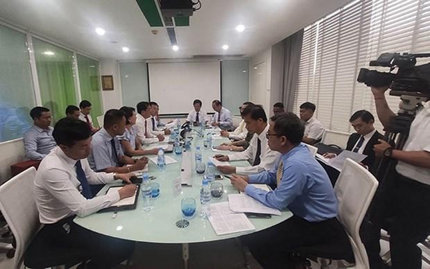 Empresas vietnamitas en Camboya apoyan a la comunidad en medio del COVID-19 hinh anh 1