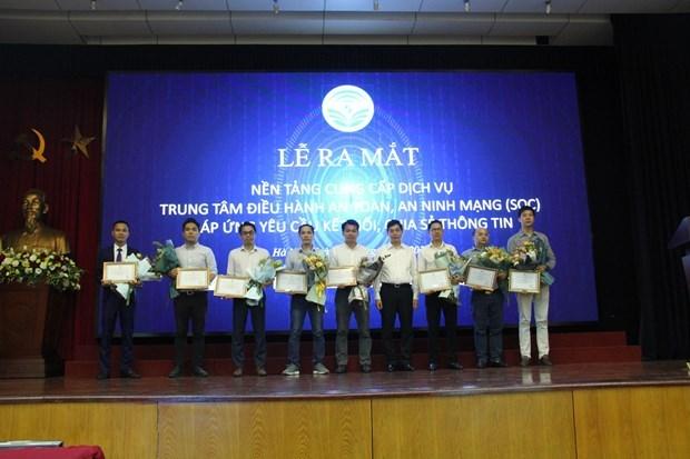Lanzan plataforma de servicios de Centros de Operacion de Seguridad en Vietnam hinh anh 1