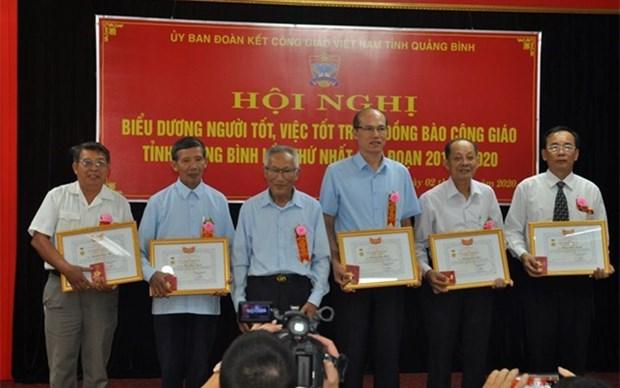 Elogian ejemplos destacados en la comunidad catolica en Vietnam hinh anh 1
