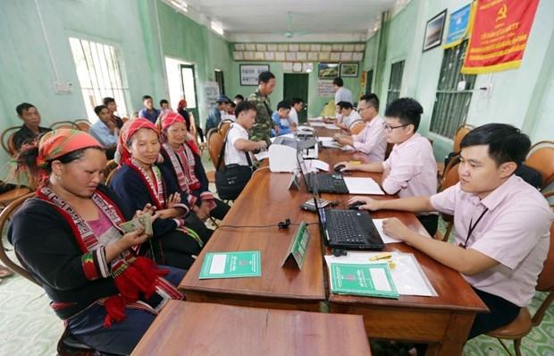 1,2 millones de personas acceden al credito del Banco de Politicas Sociales de Vietnam hinh anh 1