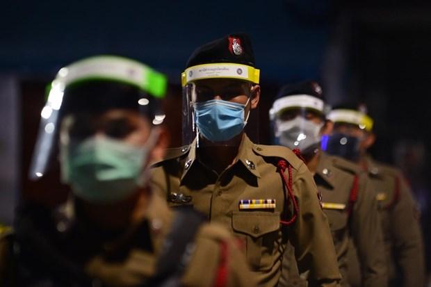 Tailandia establecera fuerza especial para rastrear contactos de viajeros infectados del COVID-19 hinh anh 1