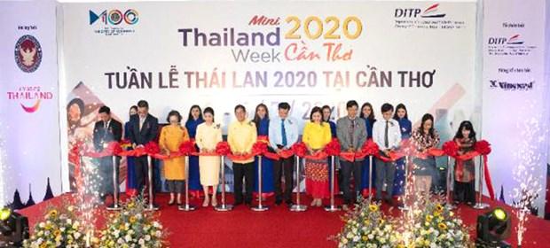 Celebran Semana de Tailandia 2020 en ciudad surena vietnamita hinh anh 1