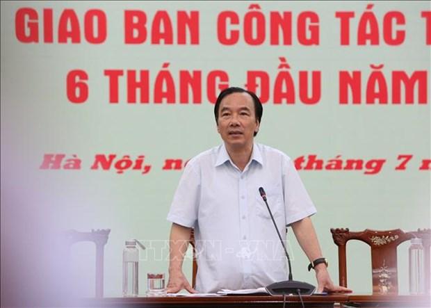 Urgen a perfeccionar mecanismos y politicas sobre asunto religioso en Vietnam hinh anh 1