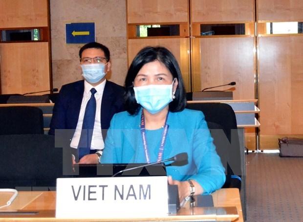 Vietnam reafirma prioridad a la proteccion infantil en conflictos armados hinh anh 1
