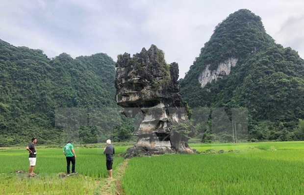 Aprecia UNESCO esfuerzos de Vietnam por preservar geoparque global Non Nuoc Cao Bang hinh anh 1