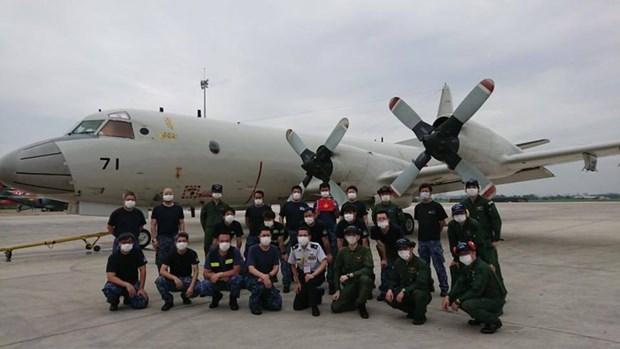 Agradece Japon a Vietnam por asistencia a avion militar en problemas hinh anh 1