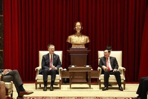 Resaltan progreso de lazos Vietnam-EE. UU. pese a impactos del COVID-19 hinh anh 1