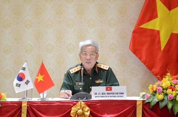 Vietnam estrecha cooperacion con en materia de defensa Corea del Sur y la India hinh anh 1