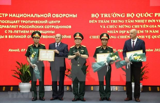 Destacan aportes del Centro para estudios tropicales Vietnam-Rusia hinh anh 1