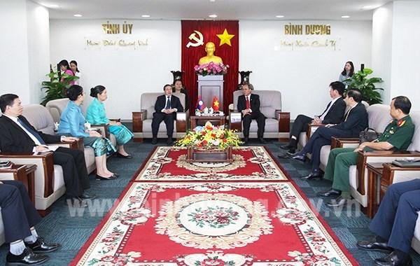 Vietnam y Laos fomentan cooperacion entre localidades hinh anh 1