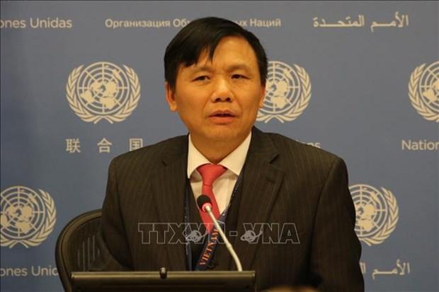 Enfatiza Vietnam importancia de operaciones de paz de la ONU para velar por los derechos humanos hinh anh 1