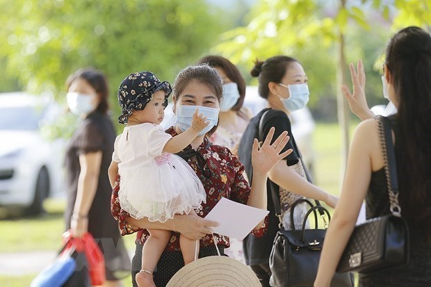 Recuperados otros tres pacientes del coronavirus en Vietnam hinh anh 1