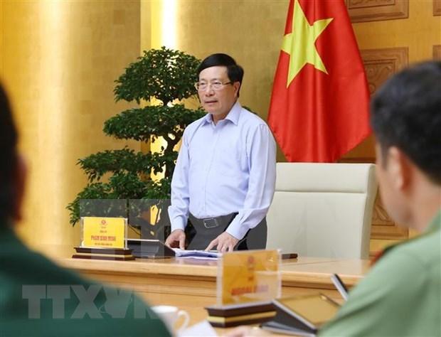 """Vicepremier vietnamita destaca la efectividad de la """"diplomacia de COVID"""" hinh anh 1"""