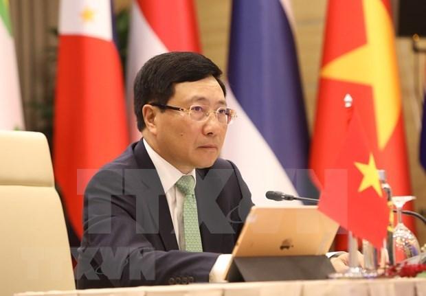 Japon y Vietnam copresidiran XIII Reunion de Ministros de Mekong-Japon hinh anh 1