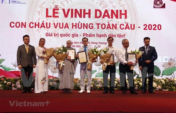 Puente televisivo honra a descendientes de los reyes Hung hinh anh 1