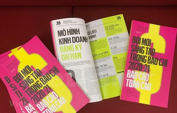VNA presenta el Informe Mundial de Innovacion en Periodismo en vietnamita hinh anh 1