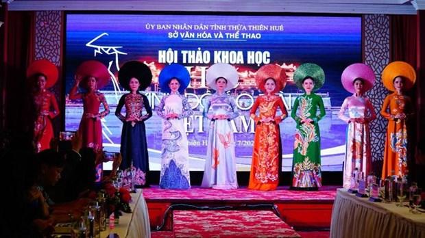 "Celebran simposio sobre ""Hue - Capital del Ao Dai de Vietnam"" hinh anh 1"