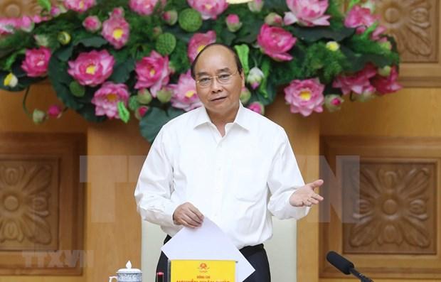 Premier de Vietnam insta a innovar en politicas financieras y monetarias hinh anh 1