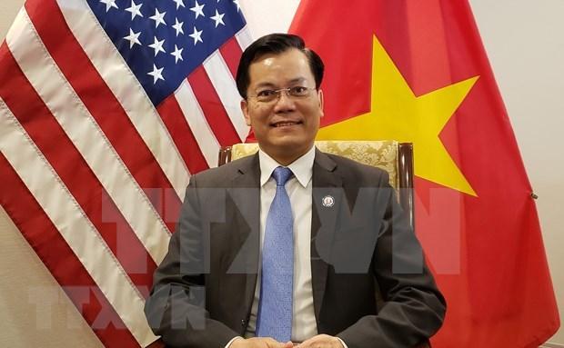 Cooperacion economica, comercial e inversionista: fuerza impulsora para los nexos Vietnam-Estados Unidos hinh anh 1