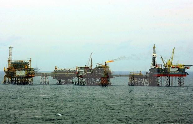 Empresa vietnamita supera objetivo de explotacion de petroleo y gas hinh anh 1