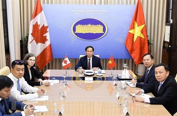 Efectuan Vietnam y Canada segunda consulta politica a nivel de vicecancilleres hinh anh 1