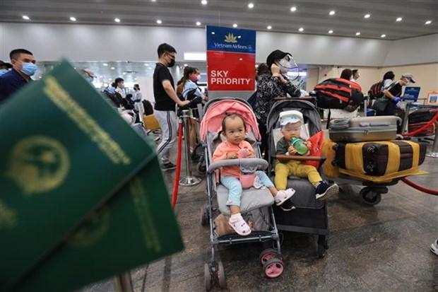 Repatrian a cerca de 300 ciudadanos vietnamitas desde Rusia a causa del COVID-19 hinh anh 1