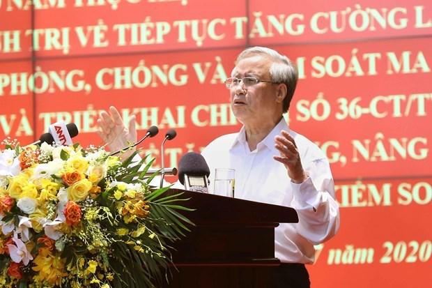 Vietnam continua impulsando la lucha antidroga hinh anh 1
