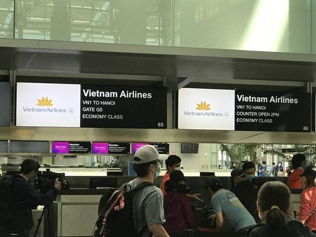 Vietnam repatria a mas de 300 ciudadanos desde Estados Unidos por pandemia hinh anh 1