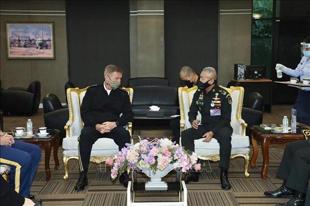 Tailandia y Estados Unidos firman Declaracion de Vision Estrategica hinh anh 1