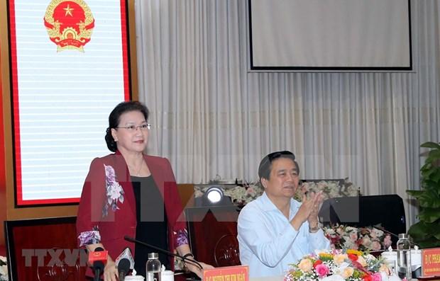 Piden a provincia de Long An promover conexion economica regional hinh anh 1