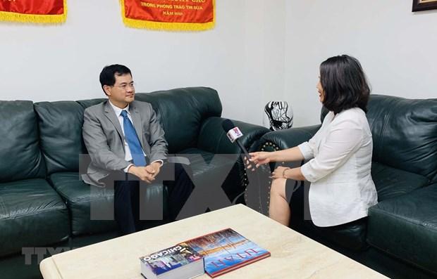 Vietnam y EE.UU. disponen de amplias potencialidades para reforzar lazos multifaceticos hinh anh 1
