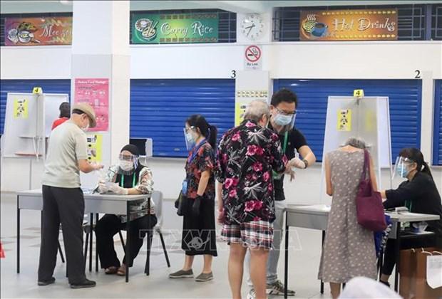 Singapur celebra elecciones parlamentarias hinh anh 1