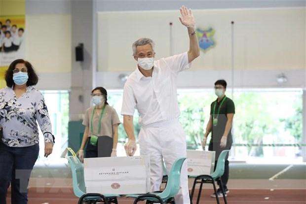 Elecciones parlamentarias de Singapur: Victoria contundente del partido gobernante hinh anh 1