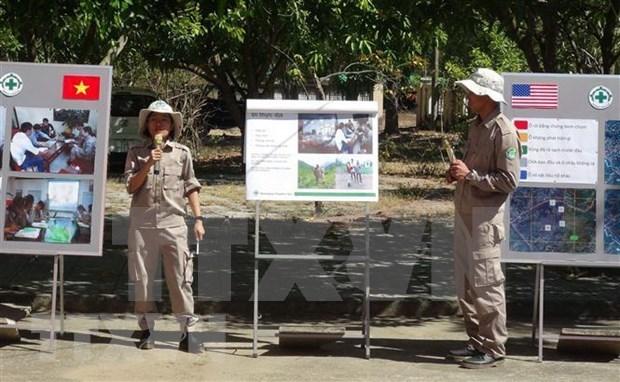 Vietnam y EE.UU. comparten conciencia comun en tratamiento de las secuelas de guerra hinh anh 1