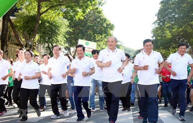 Organizan en Ciudad Ho Chi Minh Dia del Maraton Olimpico hinh anh 1