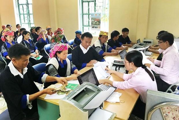 Celebrara Vietnam teleconferencia sobre creditos de politicas sociales hinh anh 1