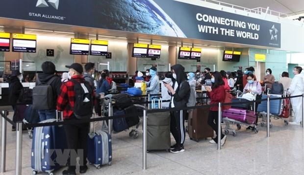 Repatrian a 340 ciudadanos vietnamitas en Reino Unido hinh anh 1