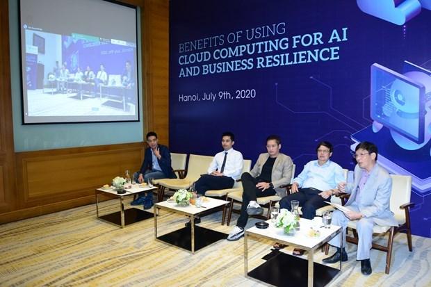 Vietnam en mejor etapa para desarrollo de computacion en nube e IA hinh anh 1