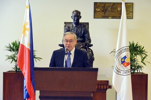 Filipinas exhorta a China a acatar dictamen de Corte de Arbitraje sobre Mar del Este hinh anh 1