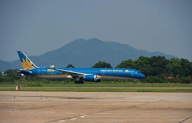 Vietnam Airlines continua ampliando su red de vuelos nacionales hinh anh 1
