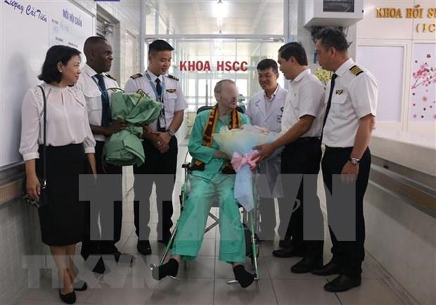 Alta medica del paciente 91 del COVID-19 en Vietnam acapara atencion de prensa britanica hinh anh 1
