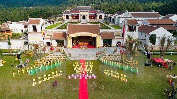 Prepara Vietnam documentos para solicitar reconocimiento de UNESCO al complejo paisajistico de Yen Tu hinh anh 1