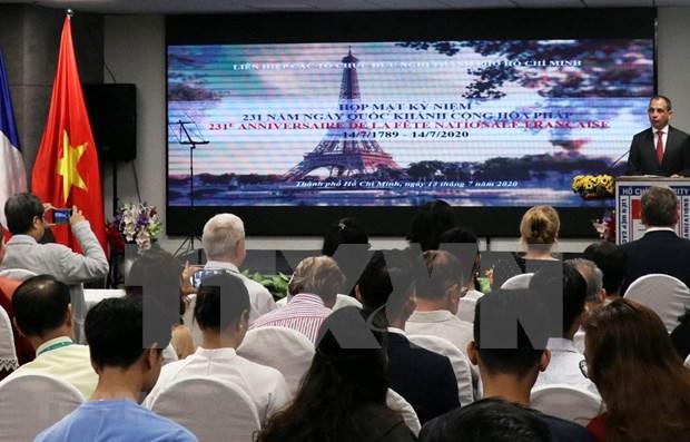 Francia considera importantes los lazos con Vietnam, afirma consul hinh anh 1