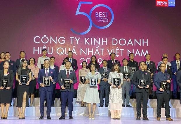 PV GAS entre las 50 empresas mas efectivas de Vietnam en 2019 hinh anh 1