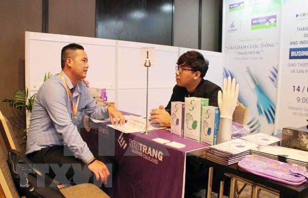 Tailandia impulsa conexion comercial con empresas vietnamitas hinh anh 1