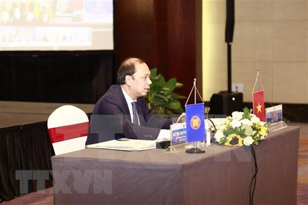 ASEAN discute sobre la construccion del marco integral de recuperacion hinh anh 1