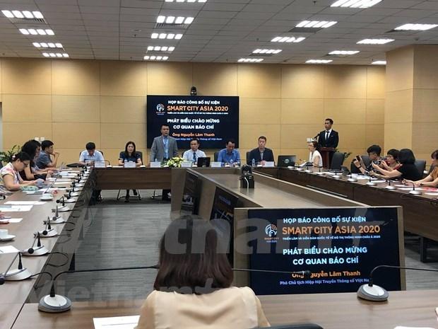 Preven nutrida participacion en exposicion de Smartcity Asia 2020 en Ciudad Ho Chi Minh hinh anh 1